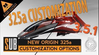 New Origin 325a | Customization Options | Star Citizen 3.5.1