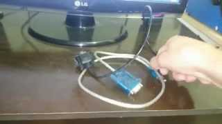 Como usar e instalar o cabo usb serial rs 232  no pc e notebook.