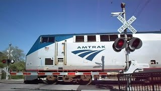 Amtrak Auto Train CSX Freight Train Crossing Malfunction