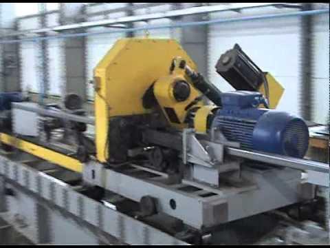 Трубный стан, линия изготовления труб ТЭСА 10-60 наладка