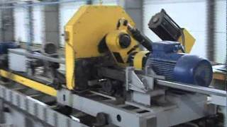 Трубный стан, линия изготовления труб ТЭСА 10-60 наладка(Процесс наладки трубоэлектросварочного агрегата ТЭСА 10-60. ООО