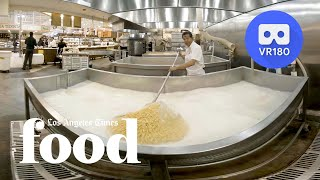 VR180 - How Northgate Market makes up to 45,000 tortillas in a day