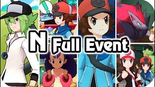 Pokémon Masters Ex : Hilbert Finally found N! (N Story Event & Sync Pair) [HQ]