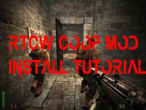 Return to Castle Wolfenstein COOP MOD install tutorial