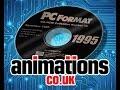 PC Format Magazine CD-ROM Animation Intros - 1994/95