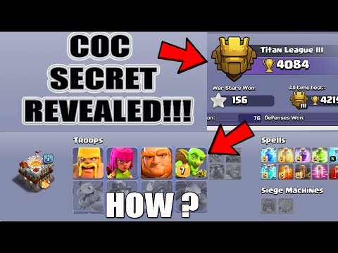 (HINDI) Secret Revealed ? MOST AMAZING COC PLAYER EVER! | Clash Of Clans