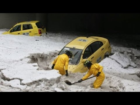 INSANE Hail Storm In China! 1 Fatality & Over 44,000 People Effected!