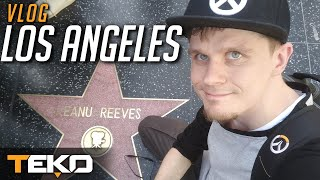 Los Angeles - Vlog z wyjazdu na BlizzCon! [Overwatch]