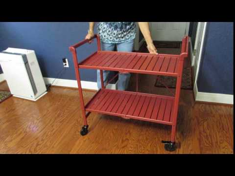 Origami Foldable 6Drawer Hobby and Home Cart - YouTube | 360x480