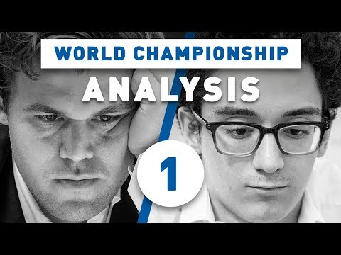 Caruana - Carlsen Game 1 World Chess Championship 2018 | Grandmaster Analysis