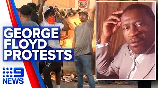 Protests across the US in wake of George Floyd's death | Nine News Australia