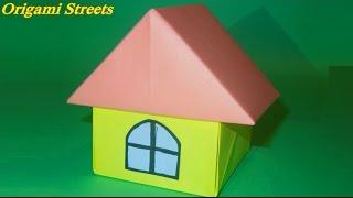 видео как сделать из бумаги дом