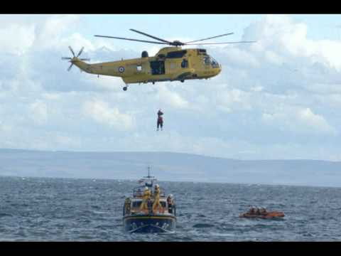 Air Sea Rescue helicopter S.R.G.131 in an emergency landing (A.T.C sound track)