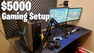 MY GAMING SETUP - $5000 Pro Fortnite Gaming Tour