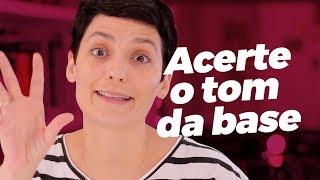 COMO ACERTAR O TOM DA BASE? Vanessa Rozan apresenta #MaquiaeFala t01Ep01