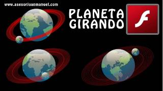 Tutorial Flash - Planeta Animado - Mascaras