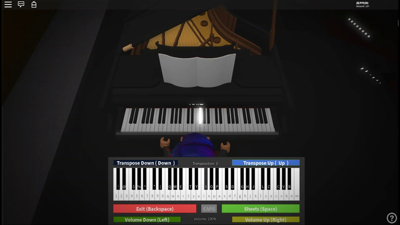 Billie Eilish Bad Guy Roblox Piano Youtube