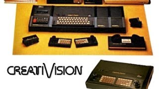 The Telefunken CreatiVision - a great Vintage Gaming Console