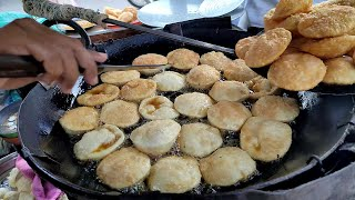 Crisp Kachori | Street Food Moong Dal Kachori | Food Street of Karachi Pakistan