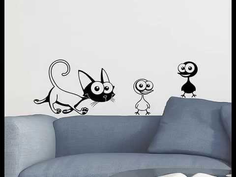 Decoraci n interior con vinilos adhesivos decorativos for Adhesivos para habitaciones infantiles