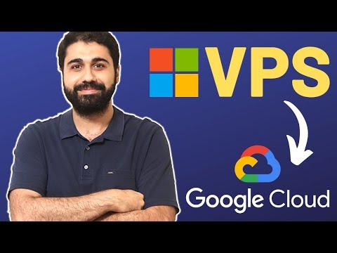 How To Create A Windows VPS On Google Cloud