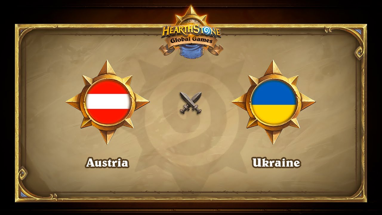 Украина vs Австрия, Hearthstone Global Games Phase 2