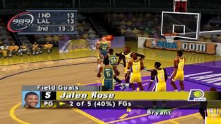 NBA ShootOut 2001 PS1 Gameplay HD