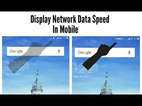 How To Fix Or Display Internet Data Speed In Mobile || Display Network Speed In Android Mobile