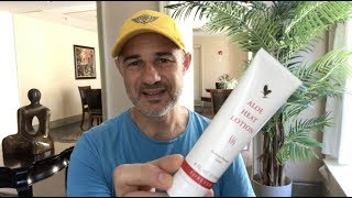 Aloe Heat Lotion Forever Living and Oliver's Experience