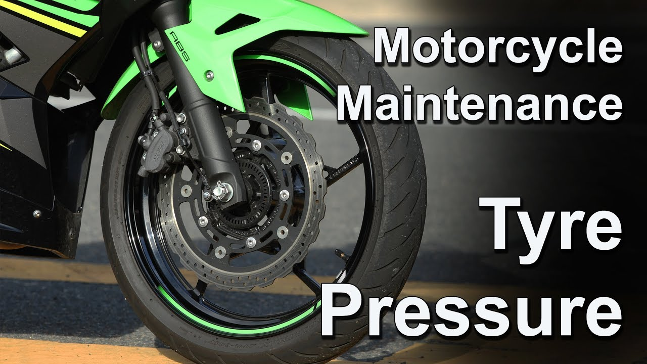 Basic Motorcycle Maintenance Tyre Pressure With The Ninja 400