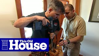 How To Repair A Wobbly Newel Post - This Old House