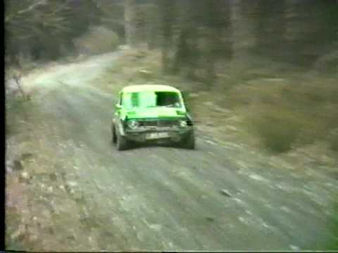 Jamie Jackson & Mike Quayle - Easter Stages Rally 1983 (Isle Of Man)