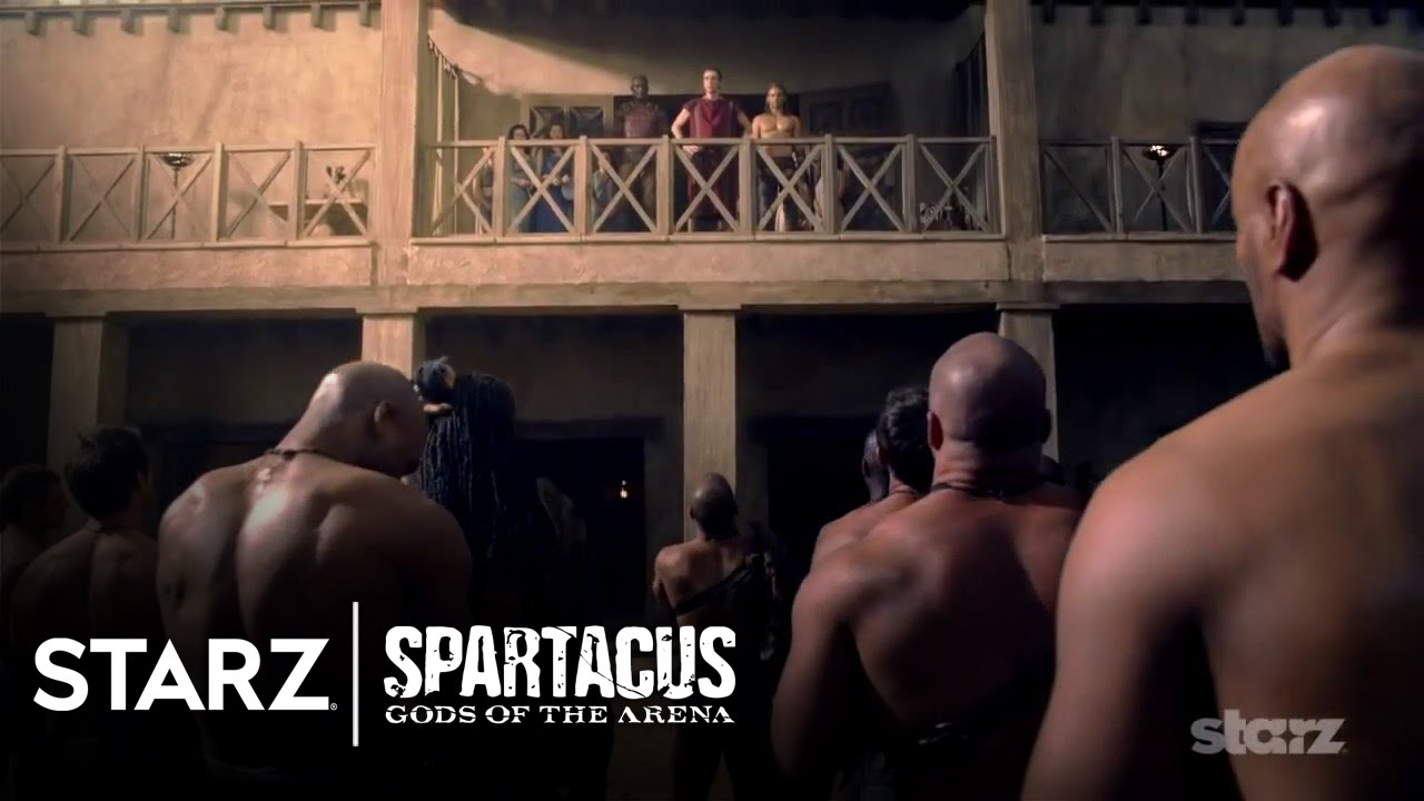 Download Spartacus: Gods of the Arena | Official Trailer | STARZ