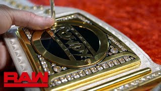 Ronda Rousey to receive custom Raw Women's Championship tonight: Raw Exclusive, Aug. 20, 2018