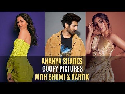 Ananya Panday Shares Goofy BTS Pictures With Her Co-Stars Kartik Aaryan & Bhumi Pednekar | SpotboyE Mp3