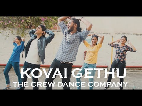 Kovai Gethu Anthem | The Crew Dance Company Choreography | Hiphop Tamizha