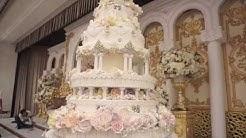 10 Tier Elegant Wedding Cake by Mad About Cake Malaysia-Kudos