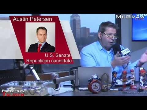 Austin Petersen US  Senate Republican candidate talks Trump, Marijuana, and Josh Hawley