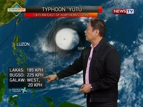 SONA: Super typhoon Yutu, tinatahak ang halos parehong storm track ng bagyong Ompong