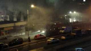 Пожар в Митино Темпл Бар, Урюк, Митинская ул. 41 (дополнение)(, 2013-11-17T23:03:20.000Z)