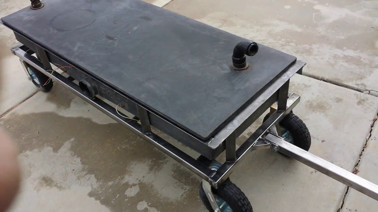 RV waste water tank/tote/trailer build