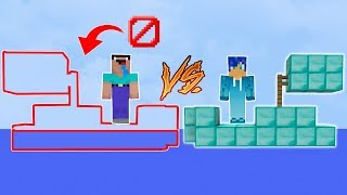 BARCO INVISIBLE vs BARCO de DIAMANTE MINECRAFT 😱 | BARCO VS BARCO en MINECRAFT TROLL