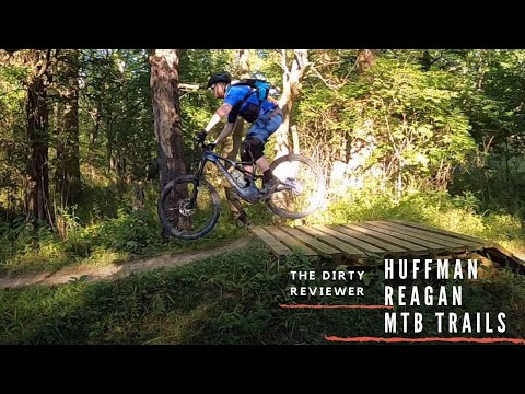 Reagan Huffman Mountain Bike Trail System Review In Medina Ohio