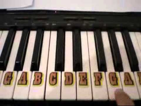 How To Play Frere Jacques Brother John On Piano Easy For Beginner