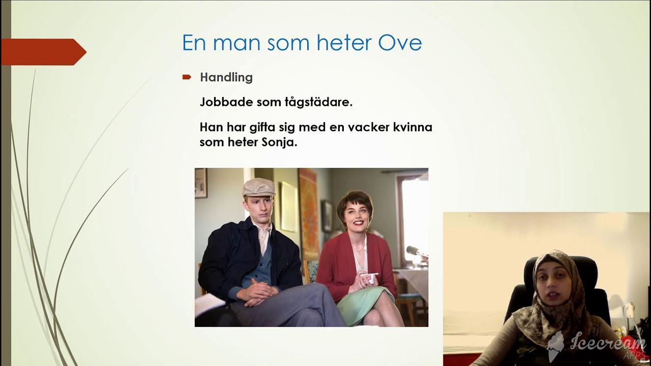 Download En man som heter Ove, muntlig redovisning Av Momena Alwaki