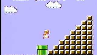 Super Mario Bros. Beat 1-1 With Fireflower Challenge (343) thumbnail