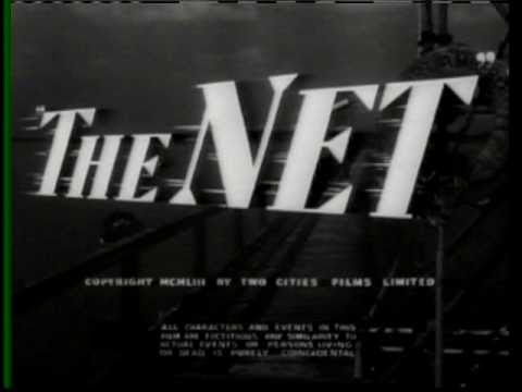 THE NET 1953 82 Minutes British Thriller Phylllis Calvert Herbert Lom James Donald
