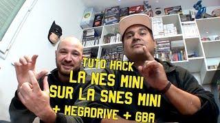 TUTO : Hack SNES mini, jeux NES mini + Megadrive + GBA