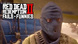 Red Dead Redemption 2 - Fails & Funnies #34