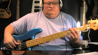 Loverboy - Turn Me Loose - Bass Cover - with Notes & Tablature